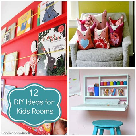 12 Diy Ideas For Kids Rooms {diy Home Decor}
