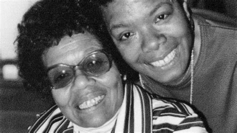 Maya Angelou, Author Of 'mom & Me & Mom'