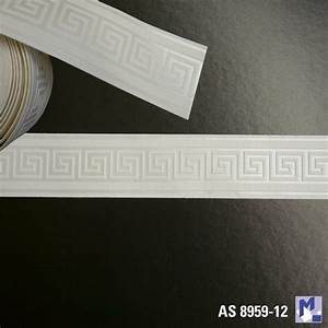 bordure as 8959 12 maander schmal selbstklebend With balkon teppich mit bordüre tapete selbstklebend