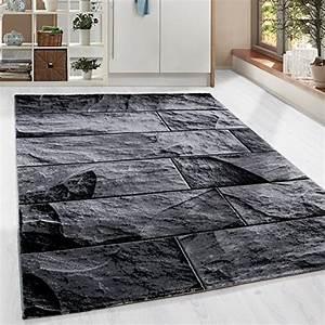 laufer und andere teppiche teppichboden von homebyhome With balkon teppich mit tapete silber schwarz