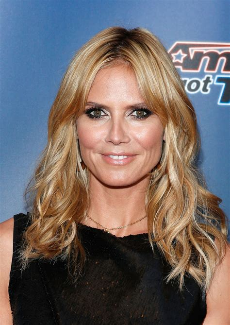 heidi klum shoulder length hairstyles looks stylebistro