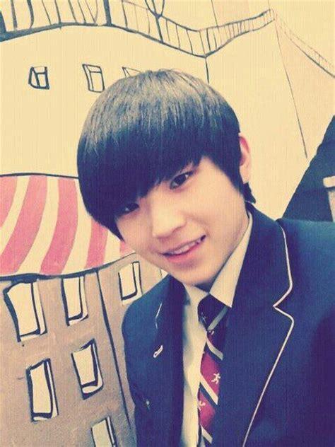 seventeen woozis hair colors kpop korean hair  style