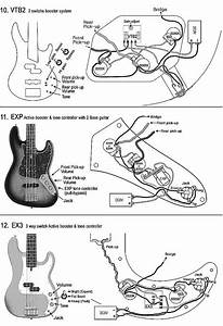 Bass Guitar 3 Pickup Wiring Diagram