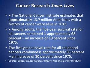 Importance of supporting cancer research