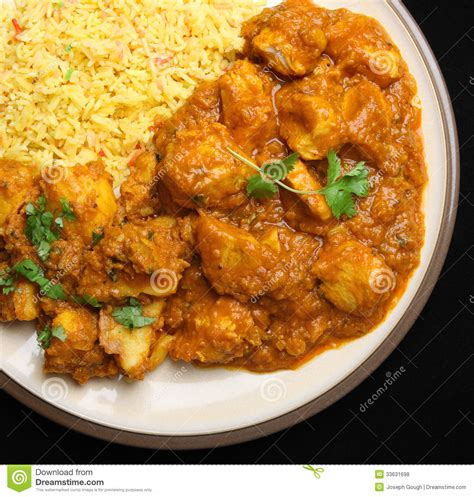 curry cuisine indian chicken curry food dinner royalty free stock photos