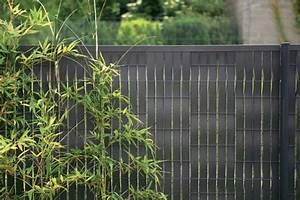 palissade claustra quelle cloture protege mon jardin With lovely idee deco jardin terrasse 8 fruits decoration exterieur terrasse vue sur cour