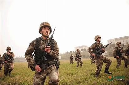 Bayonet China Drill Animated Defense Chinese War