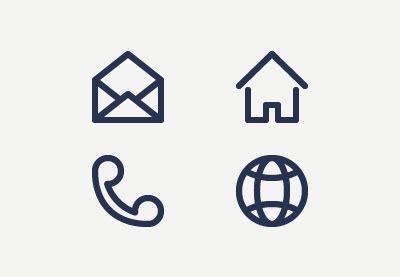 business card icon  vectorifiedcom collection