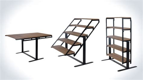 Swing Table by Swing Convertible Table Shelf Design Inspiration In