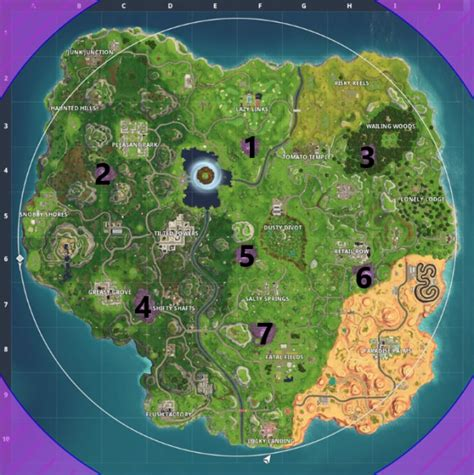 fortnitemares part  challenges guide xblafans