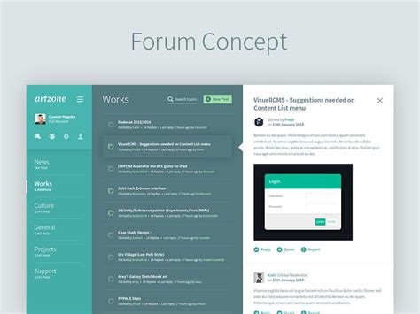 Design Forum by Pin On Mobile Ui Exles