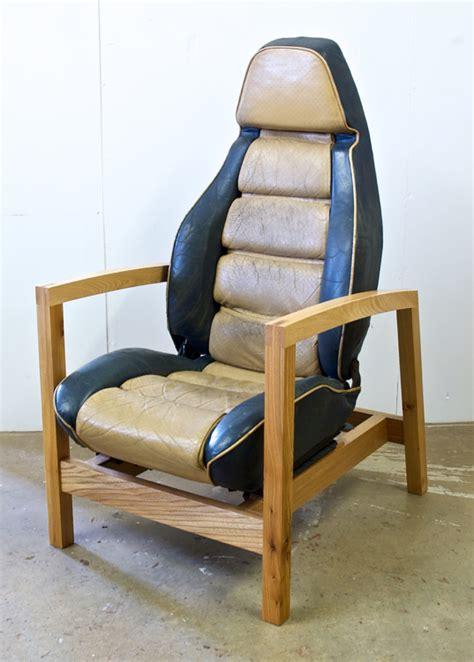 Car Armchair by Porsche 928 Car Seat Armchairs Stephen Finch Furniture Maker