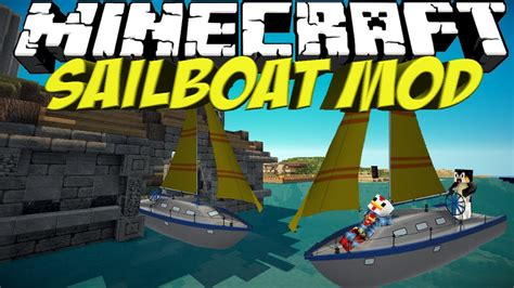 Minecraft Boat Plane by Boat Mod Minecraft Sailboat Mod Showcase