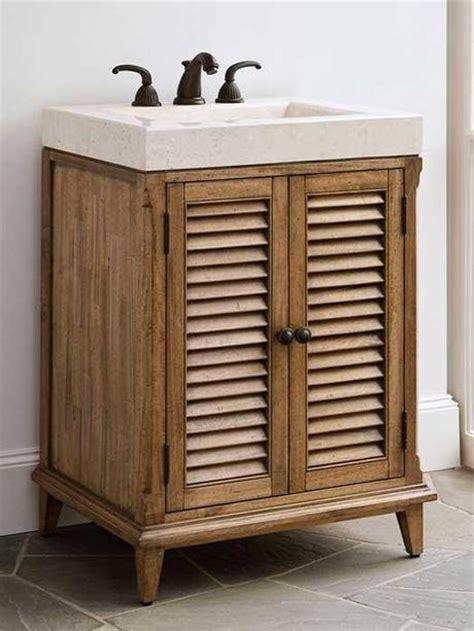 bathroom vanities  louvered shutter style doors