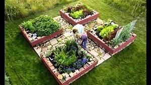 Garden Ideas  Raised Bed Vegetable Gardening