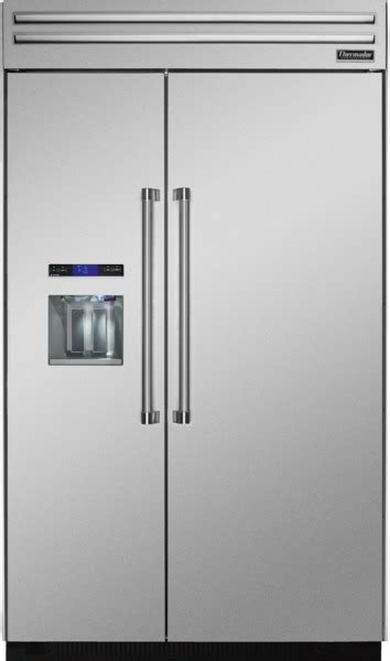 thermador tbdns   built  side  side refrigerator   cu ft capacity