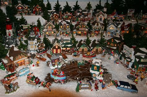 miniature christmas village ylbnoel s blog