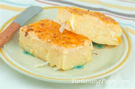 manioc cuisine cassava cake recipe