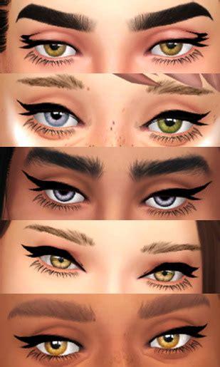 Sims 4 cc eyes maxis match
