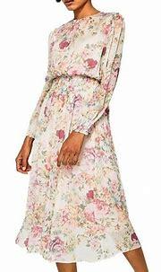 Spring floral print chiffon dress – Paris Winkle   Floral ...