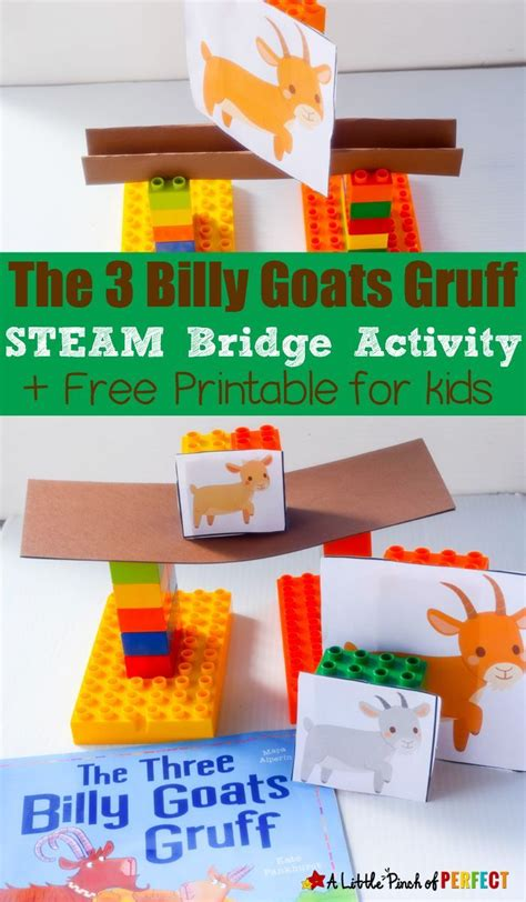 the three billy goats gruff steam bridge building activity 609 | 729d77e29023a0ed401a96c6c50c9bbc