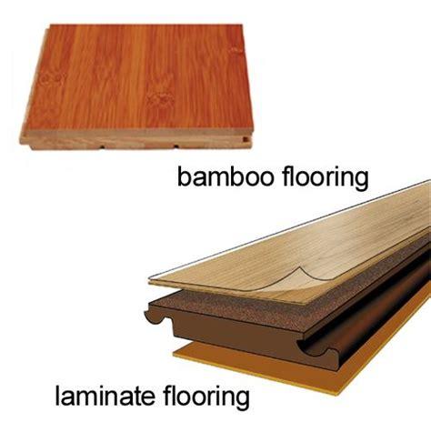 Laminate Flooring Bamboo Versus Laminate Flooring