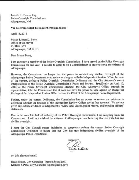 Browse Our Image of Officer Resignation Letter Template for Free in 2020 | Resignation letter