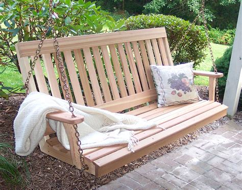 porch swings for cedar garden porch swing
