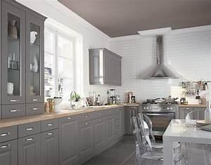 peindre ses meubles de cuisine travauxcom With meuble de cuisine en bois rouge 2 idee couleur cuisine la cuisine rouge et grise