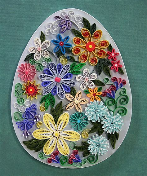 images  quilling eggs  pinterest paper