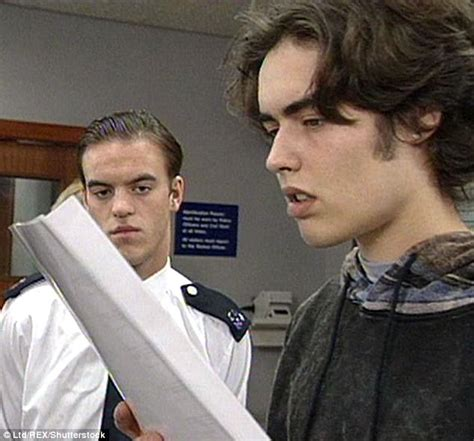 russell brand young russell brand looks unrecognisable as a thief on the bill