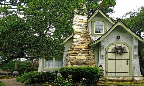 Carmel Fairytale Cottage Tiny Romantic Cottage House Plan
