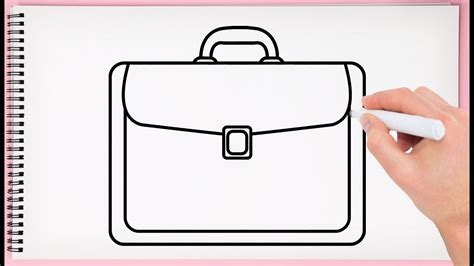 draw bag step  step learn easy  simple drawing