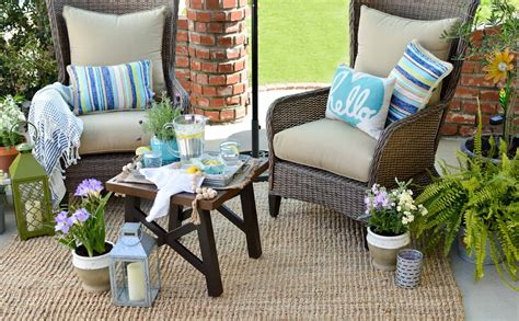 Outdoor benches are a great option and can seat multiple people. How To Make The Most Out Of A Small Patio Space