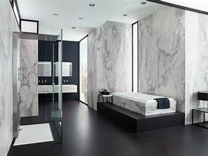 Fresh Black And White Marble Tile Bathroom 84 Awesome to ...