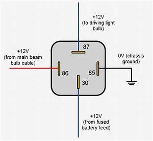 Relay Wiring Diagram 5 Pin Stylesync Me Fair