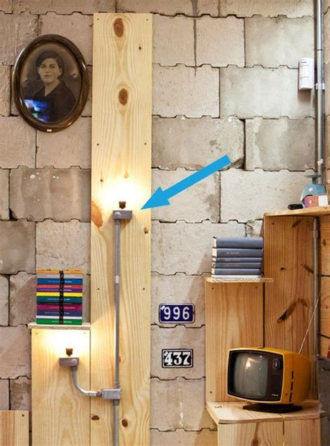Diy Inspiration Industrial Electrical Conduit Wall