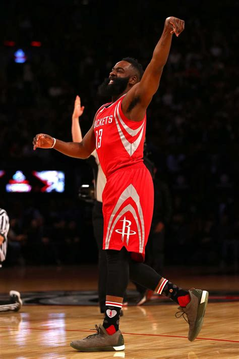 James Harden puts on a show in Three-Point Contest