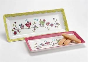 Plat à Cake : arts de la table plateau plat ~ Teatrodelosmanantiales.com Idées de Décoration