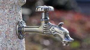 Rottenecker Wasserauslauf mit Absperrung 88479 Bronce Art