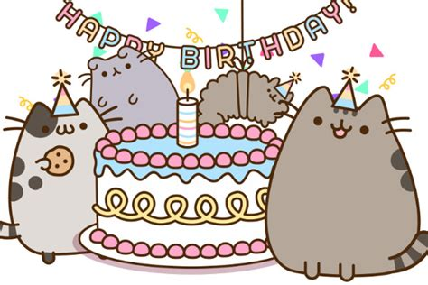 pusheen cat birthday decoration pusheen s birthday