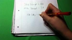 Tv Größe Berechnen : mathe einfachen dreisatz berechnen mathe dreisatz ~ Themetempest.com Abrechnung
