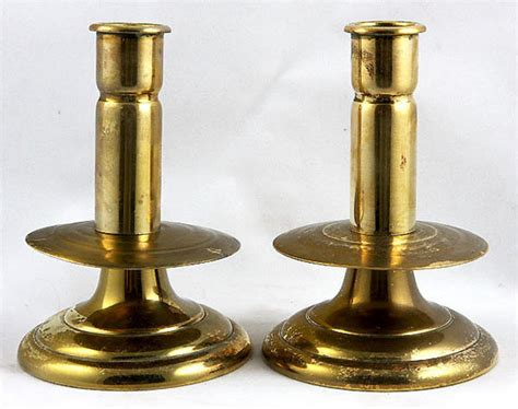 candlestick ls for sale pair brass candlesticks for sale antiques com classifieds