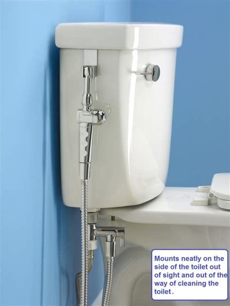 Bidet Sprays - aquaus 360 held bidet sprayer clear water bidets
