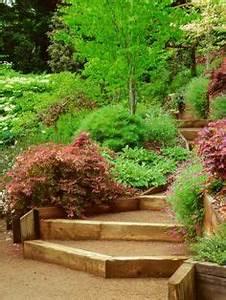 Jardin En Pente Raide : sloped stair design decomposed granite google search garden pinterest jardin en pente ~ Melissatoandfro.com Idées de Décoration