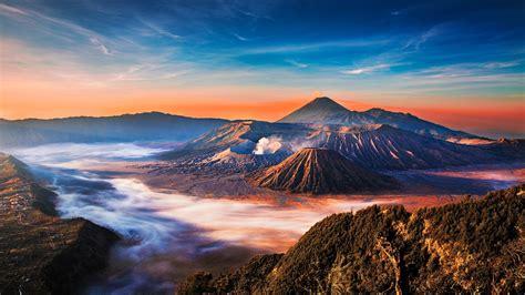wallpaper pemandangan gunung terindah  dunia wallpapershit