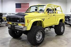 1984 Ford Bronco Ii Yellow Chop Top   Bronco Ii Corral