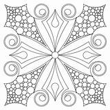 Block Barb Coloring Quilt Patterns Mandala Drawing Sweetdreamsquiltstudio Adult Colouring sketch template
