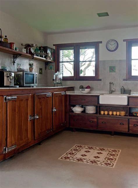 cemento alisado  madera decoracion del hogar en