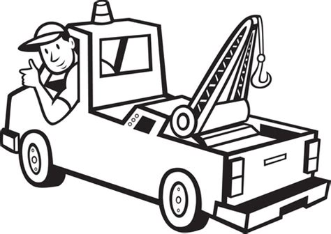 truck driver coloring page  printable coloring pages